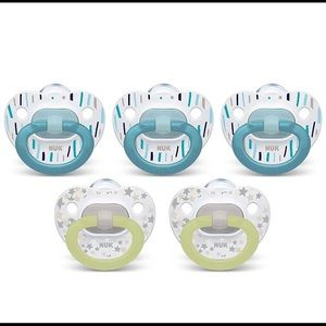 Nuk value pack pacifiers